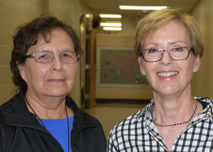 Photo of Rhonda Mason and Barb Olson